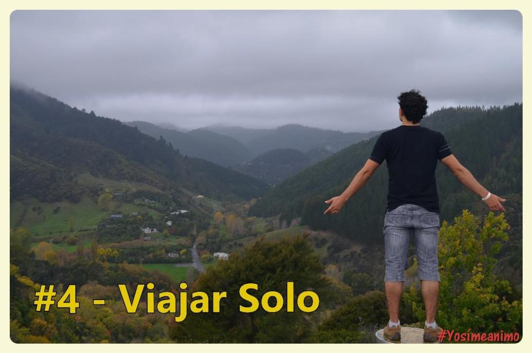 Viajando solo