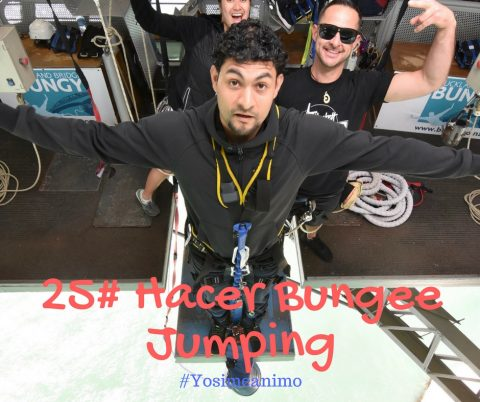 25. Hacer Bungee Jumping