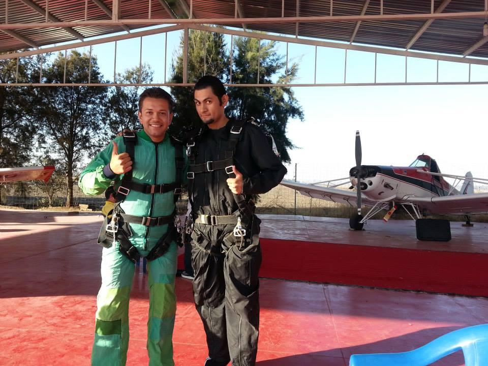 Con mi amigo Ramon