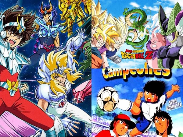 Caricaturas de la infancia: DragonBall Z, Caballeros del zodiaco y supercampeones