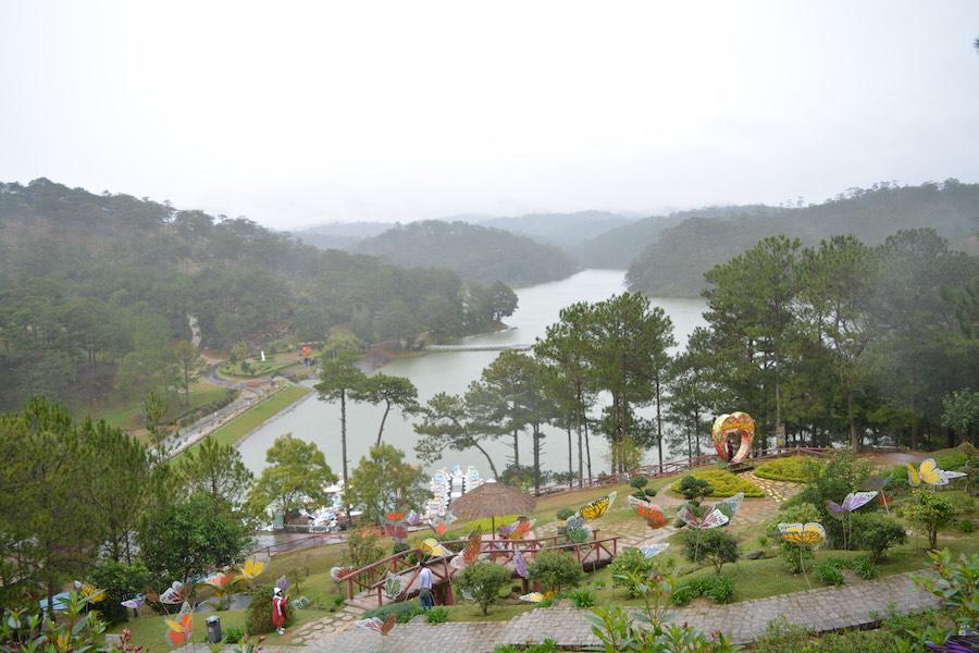 Parque tematico del amor Dalat