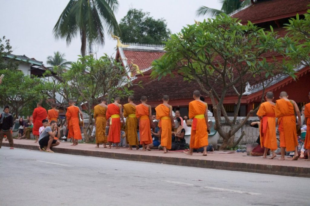 Viviendo entre monjes budistas