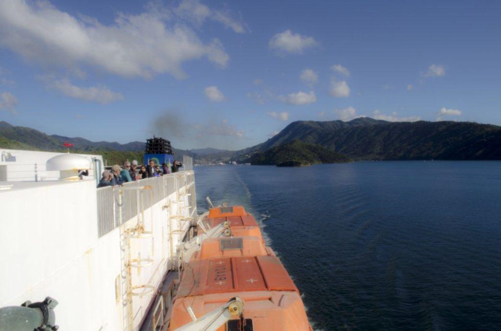 Viajando en barco 1