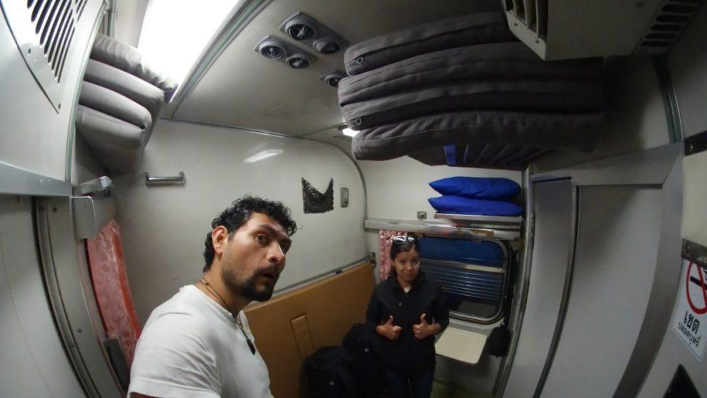 Un viaje de 14 Hrs en tren